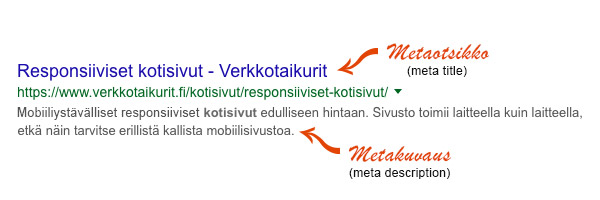 metatiedot